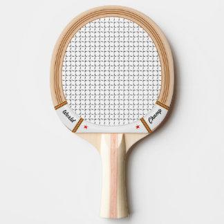 ヴィンテージの木のテニスラケット 卓球ラケット