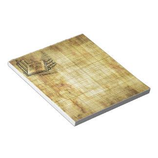 ヴィンテージの本 ノートパッド