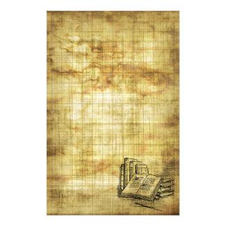ヴィンテージの本 便箋