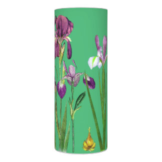 ヴィンテージの植物のアイリスによっては花柄が開花します LEDキャンドル