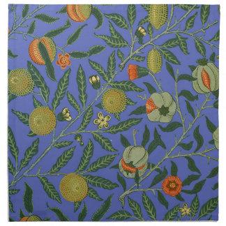 ヴィンテージの植物のザクロパターン壁紙 ナプキンクロス
