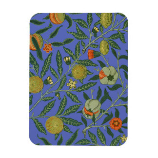 ヴィンテージの植物のザクロパターン壁紙 マグネット