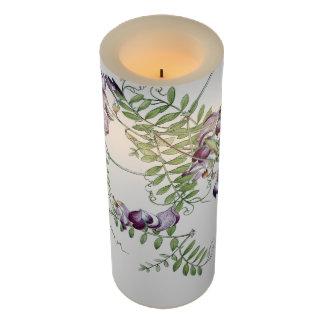 ヴィンテージの植物の花のつる植物のFlameless蝋燭 LEDキャンドル