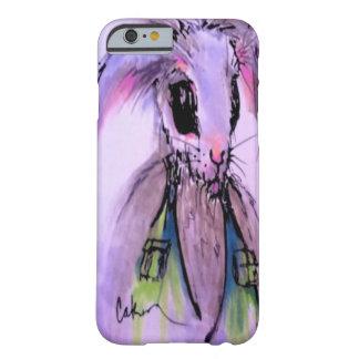 ヴィンテージの水彩画のウサギのiPhoneの場合 Barely There iPhone 6 ケース