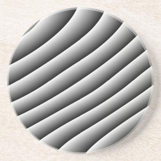 ヴィンテージの波状ラインコースター コースター