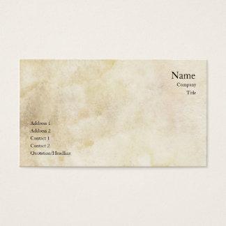 ヴィンテージの洗浄名刺 名刺