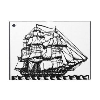 ヴィンテージの海賊船の航海のな夢のipadの場合 iPad mini ケース