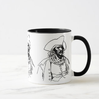 ヴィンテージの海賊、ハワードPyle著バッカニアのスケッチ マグカップ