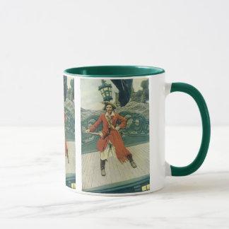 、ヴィンテージの海賊KeittハワードPyle著大尉 マグカップ
