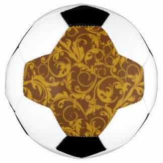 ヴィンテージの渦巻のマンゴのシナモン サッカーボール