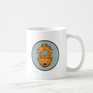 ヴィンテージの潜水鐘 コーヒーマグカップ