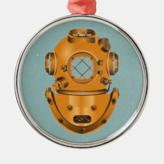 ヴィンテージの潜水鐘 メタルオーナメント