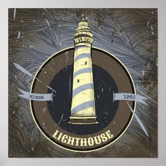 ヴィンテージの灯台| 1960年 ポスター