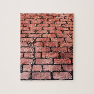 ヴィンテージの煉瓦通り ジグソーパズル
