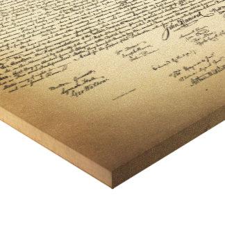 ヴィンテージの独立宣言 キャンバスプリント