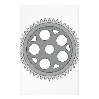 ヴィンテージの独身のなリングのクランクのレトロ 便箋