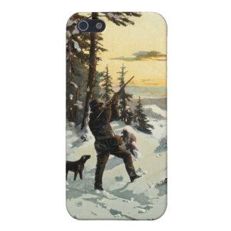 ヴィンテージの猟犬銃の芸術のAppleのiPhone 5の場合 iPhone SE/5/5sケース