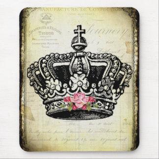 ヴィンテージの王冠 マウスパッド