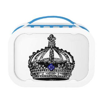 ヴィンテージの王室のな王冠 ランチボックス