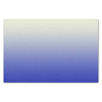 ヴィンテージの白くグラデーションな勾配への粋で明るい青 薄葉紙