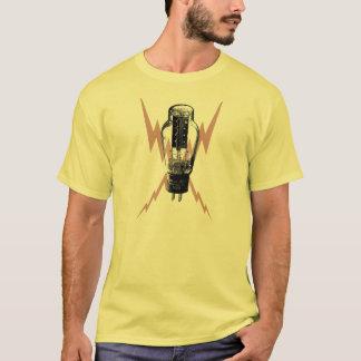 ヴィンテージの真空管のTシャツのギターのアンプ Tシャツ