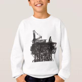 ヴィンテージの石油掘削装置 スウェットシャツ
