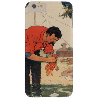 ヴィンテージの石鹸広告箱 スリム iPhone 6 PLUS ケース