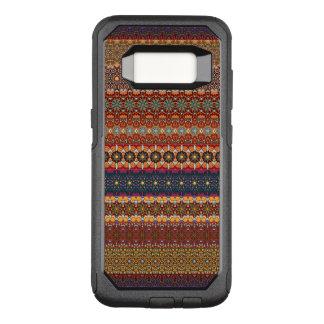 ヴィンテージの種族のアズテック派のパターン オッターボックスコミューターSamsung GALAXY S8 ケース