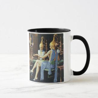 ヴィンテージの空想科学小説の美容院のスパのマニキュア マグカップ