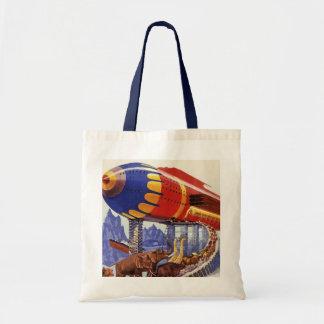 ヴィンテージの空想科学小説、ノアの箱舟の野生動物 トートバッグ