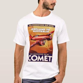 ヴィンテージの空気競争ポスター Tシャツ
