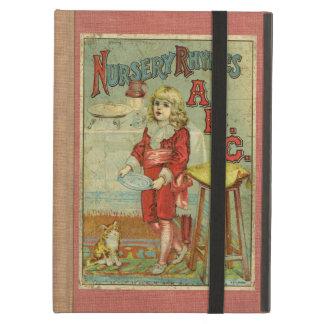 ヴィンテージの童謡ABCの児童図書カバー iPad AIRケース