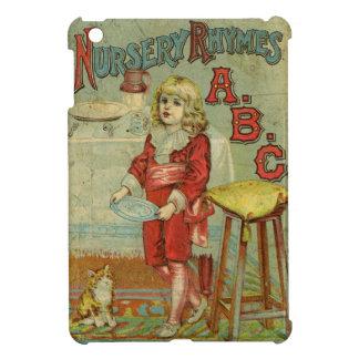 ヴィンテージの童謡ABCの児童図書カバー iPad MINIカバー