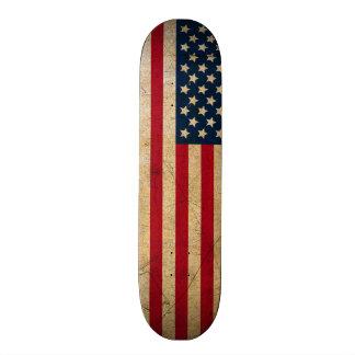 ヴィンテージの米国旗のスケート板デッキ 21.6CM スケートボードデッキ