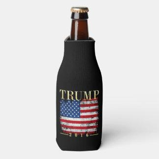 ヴィンテージの米国旗の金ゴールドのタイプドナルド・トランプ2016年 ボトルクーラー