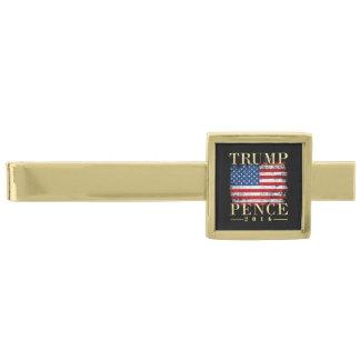 ヴィンテージの米国旗の金ゴールドの切札のペニー2016年 ゴールド タイバー