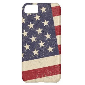 ヴィンテージの米国旗の7月4日BBQは古い栄光衰退しました iPhone5Cケース