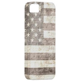 ヴィンテージの米国旗2 iPhone SE/5/5s ケース