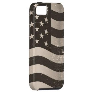 ヴィンテージの米国旗3 iPhone SE/5/5s ケース