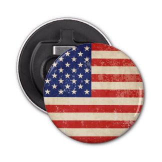 ヴィンテージの米国旗 栓抜き