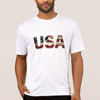 ヴィンテージの米国旗 Tシャツ