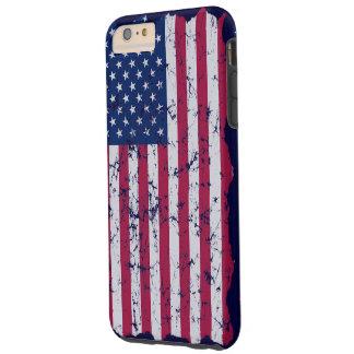 ヴィンテージの米国旗 TOUGH iPhone 6 PLUS ケース