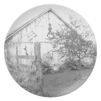 ヴィンテージの納屋 プレート