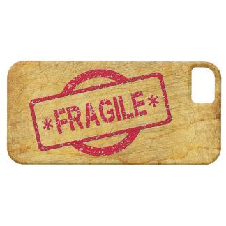 ヴィンテージの紙のカスタマイズ可能で壊れやすいスタンプ iPhone SE/5/5s ケース