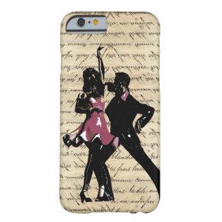 ヴィンテージの紙の社交ダンスのダンサー BARELY THERE iPhone 6 ケース