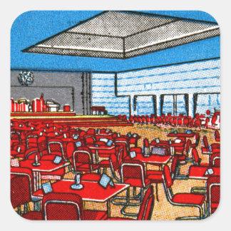 ヴィンテージの紙マッチは娯楽室NYに一致させます スクエアシール