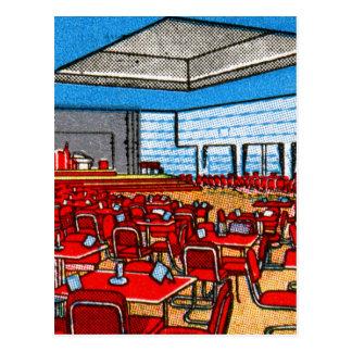 ヴィンテージの紙マッチは娯楽室NYに一致させます ポストカード