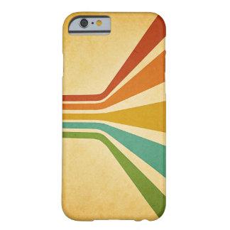 ヴィンテージの素晴しいストライプの箱 BARELY THERE iPhone 6 ケース
