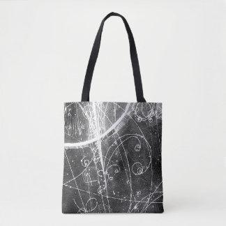 ヴィンテージの素粒子物理学のバッグ トートバッグ