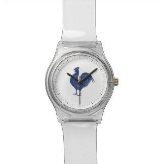 ヴィンテージの紫色のオンドリ 腕時計